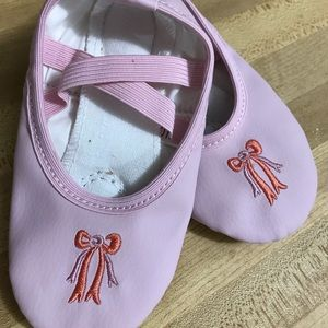 Other - NWT size 7/size 23 pink ballet leather toddler